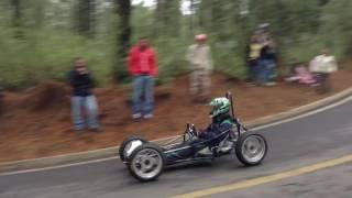 Gravity race 2016 - Accidente en la curva de la muerte