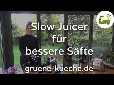 Warum nur ein Slow Juicer wirklich gute Säfte macht