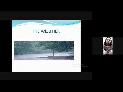 Download THE WEATHER - 3RD GRADE
