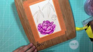 Take Your Zig Watercoloring Up a Notch!