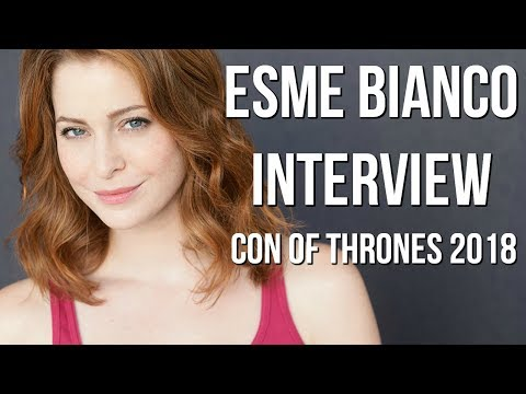 Con of Thrones 2018 : Azor Ahype Interviews Esme Bianco!