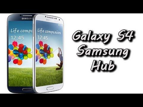 Galaxy S4 Samsung Hub