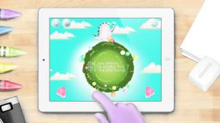 Bibo, the little monster android app trailer - App Trailers