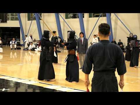 Kendo 2017 Nikkei Games 3 Dan Division: Finals