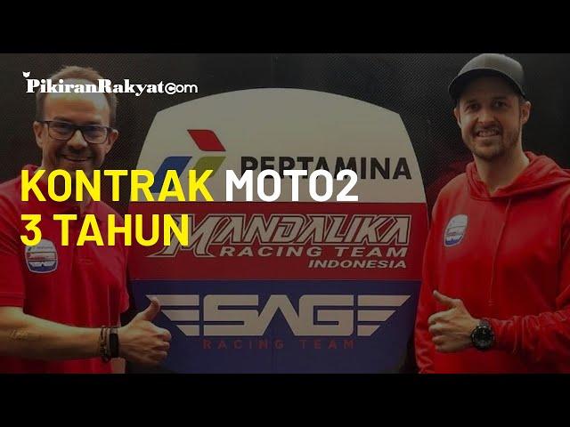 Mandalika Racing Team Resmi Kerjasama dengan SAG, Kantongi Kontrak Moto2 3 Tahun Kedepan