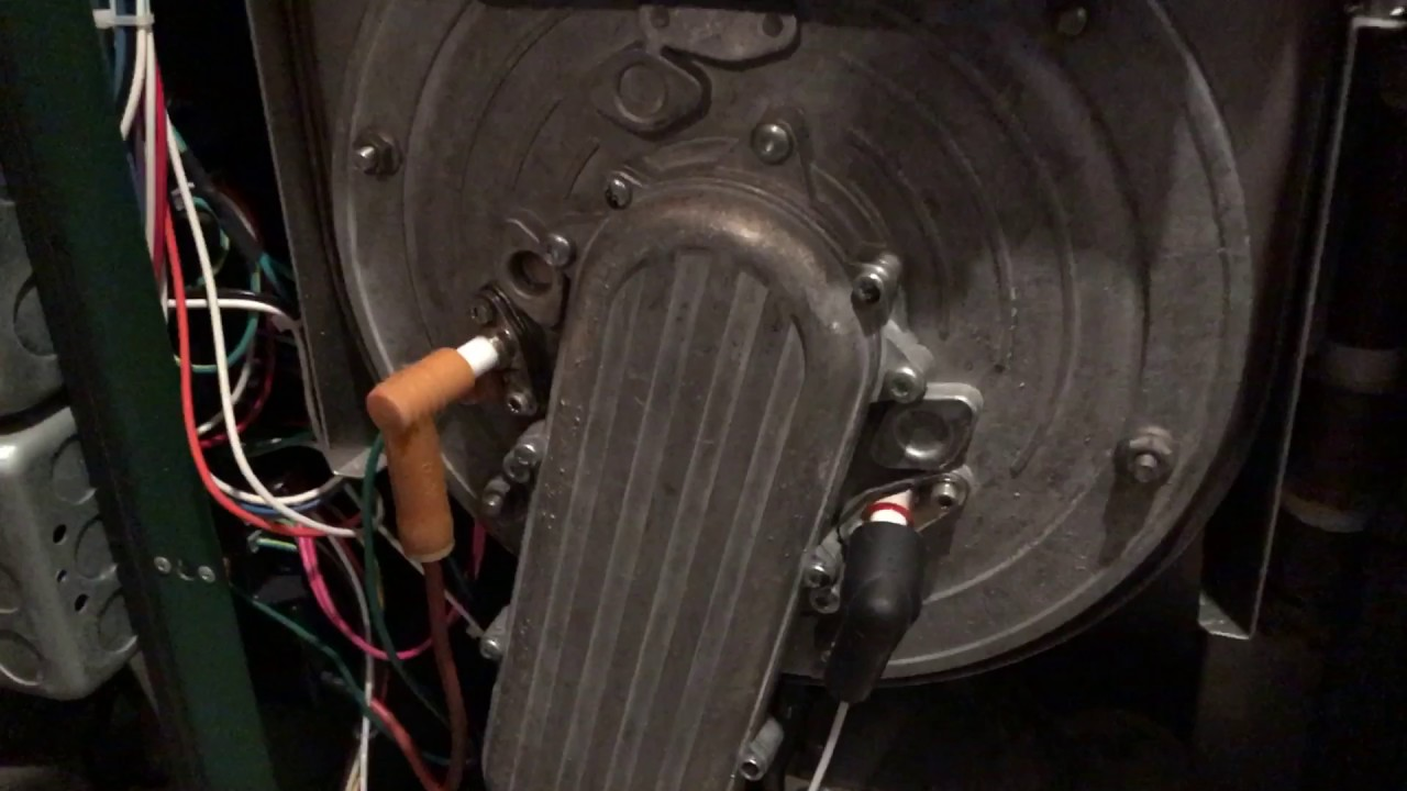 How to replace flame sensor on Peerless boiler - YouTube