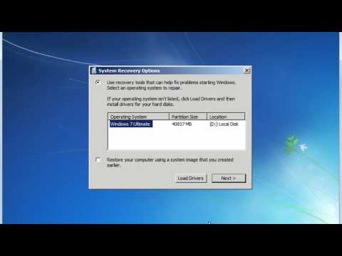 Repair Windows 7/Vista Startup Issues With Windows Recovery Environment [Tutorial]