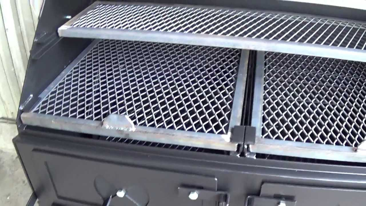 24''x48'' charcoal grill by Lone Star Grillz