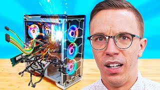 24 Hour Gaming PC Build Challenge!