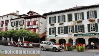 Sare, terre et côte Basques (Notrebellefrance, HD, plus beaux villages de france)