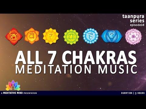All 7 CHAKRAS MEDITATION BALANCING & HEALING MUSIC | Taanpura Series | M16CS3T8
