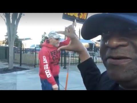 Zennie Meets Racist Atlanta Fake Jesus Freak At Super Bowl City