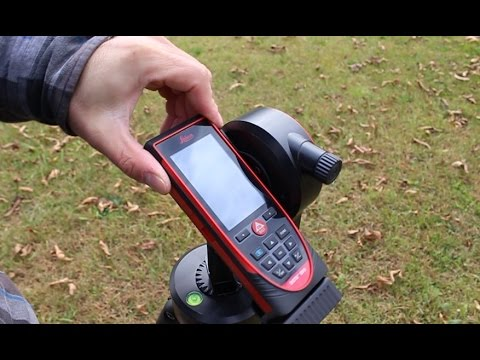 Leica S910 Exterior Electric Pole to House Measurements (Point to Point)