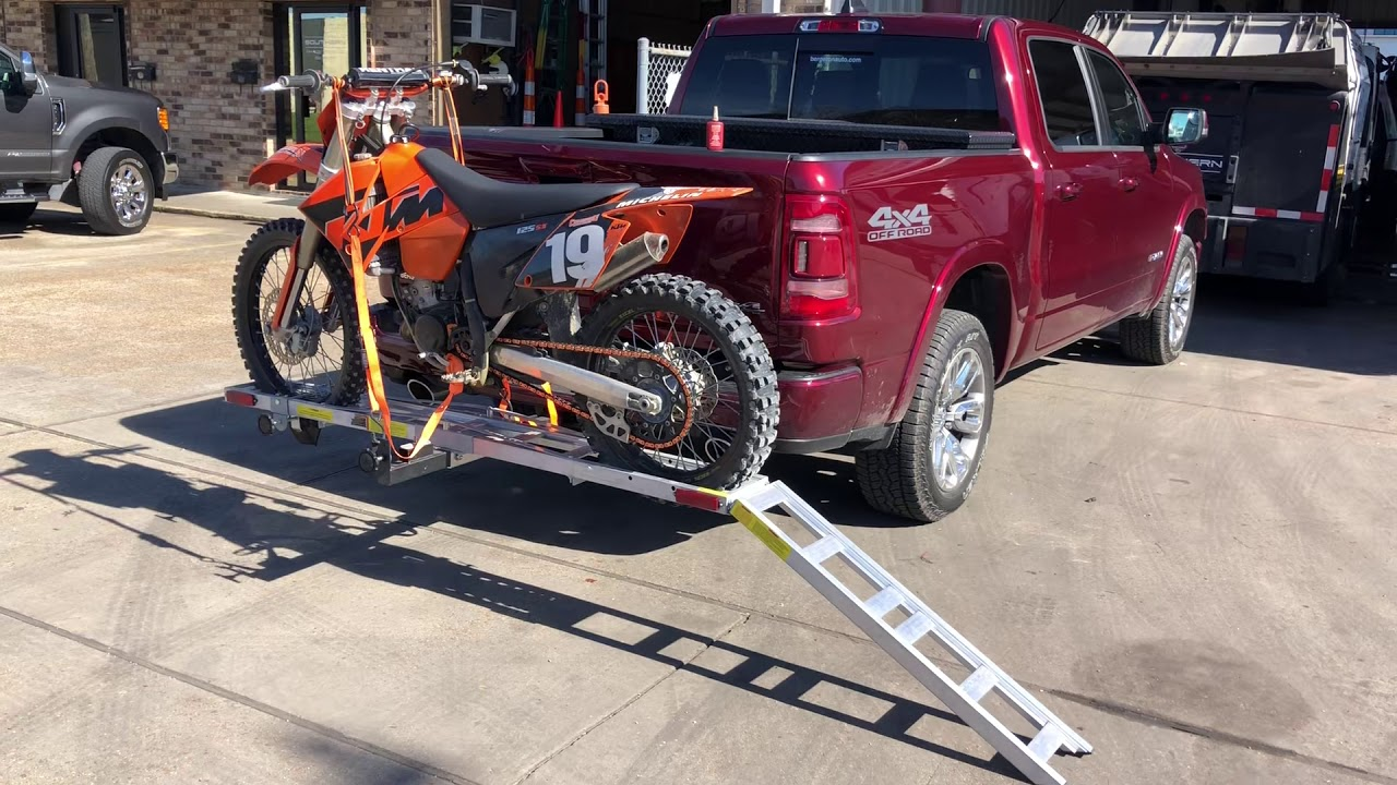 harbor freight motorcycle carrier review tips ktm 125sx