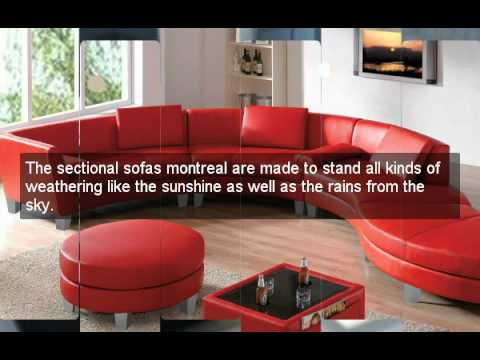 Sectional Sofas Montreal - YouTube