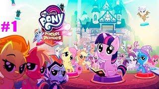 Мои Маленькие Мини-Пони обучение от Сумеречной Искорки детское игровое видео