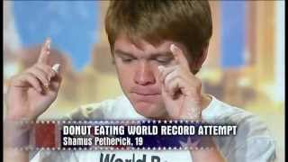Shamus Breaks World Record - Australia's Got Talent 2012