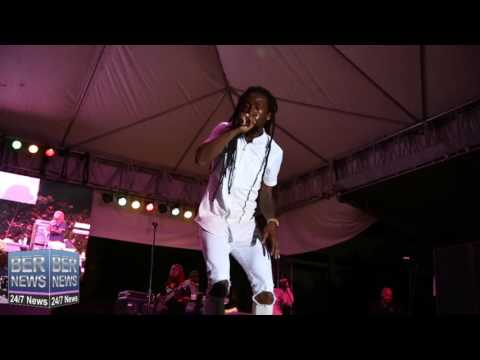 Jah Cure At Cup Match Summer Splash, July 23 2016