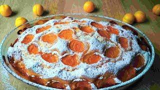 Пирог с Абрикосами/Вкусный Фруктовый Пирог. Cake with Apricots / Fruit Cake