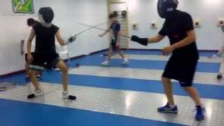 Mirmohammadi fencing Foil Lesson 2015