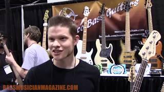 Bass Musician Magazine NAMM 2018 - Marco Bass Guitars