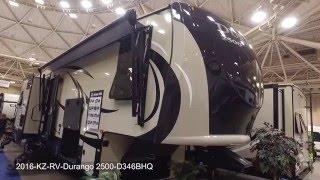 2016 KZ RV Durango 2500 D346BHQ