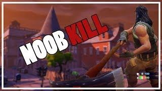 NOOB PICKAXE KILL! (Fortnite Battle Royale Dansk)