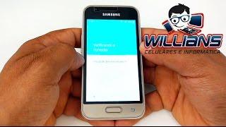 Desbloqueio Conta Google Samsung Galaxy J1 mini, SM-J105, J105B, J105M, J106B , Desbloquear