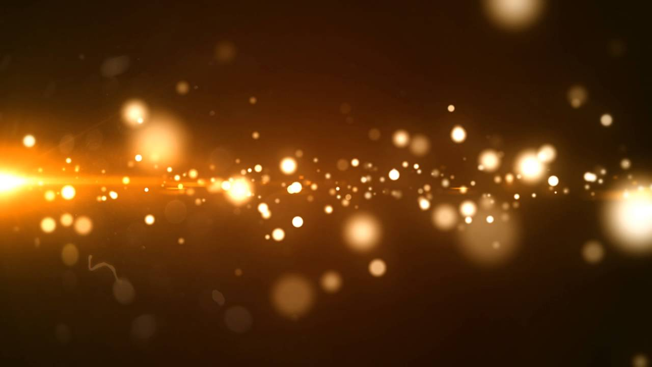 Glowing Golden Particle Free Motion Graphics Youtube