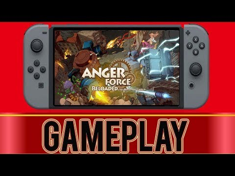 AngerForce: Reloaded - So much fun! - Nintendo Switch |