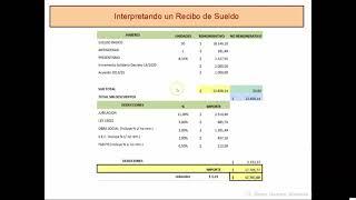 Recibo De Sueldo - Interpretando
