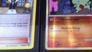 Pokemon Trading Card Game Trade Binder Update!