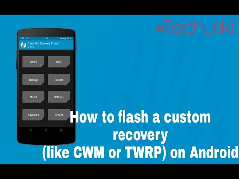 how to make cwm recovery