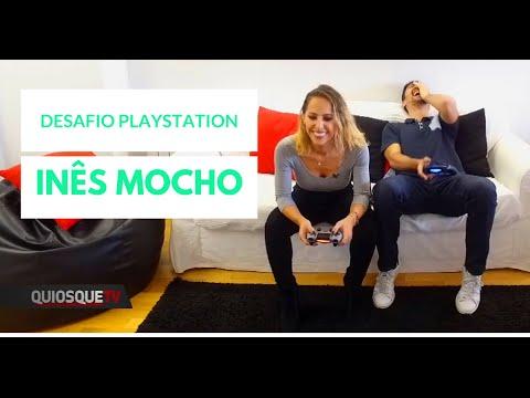 Desafio Playstation com o Miguel | Inês Mocho