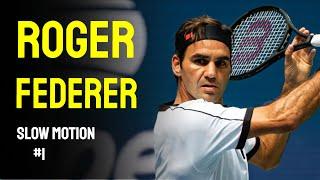 Roger Federer Slow Motion Compilation #1