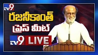 Rajinikanth Press Meet LIVE - TV9