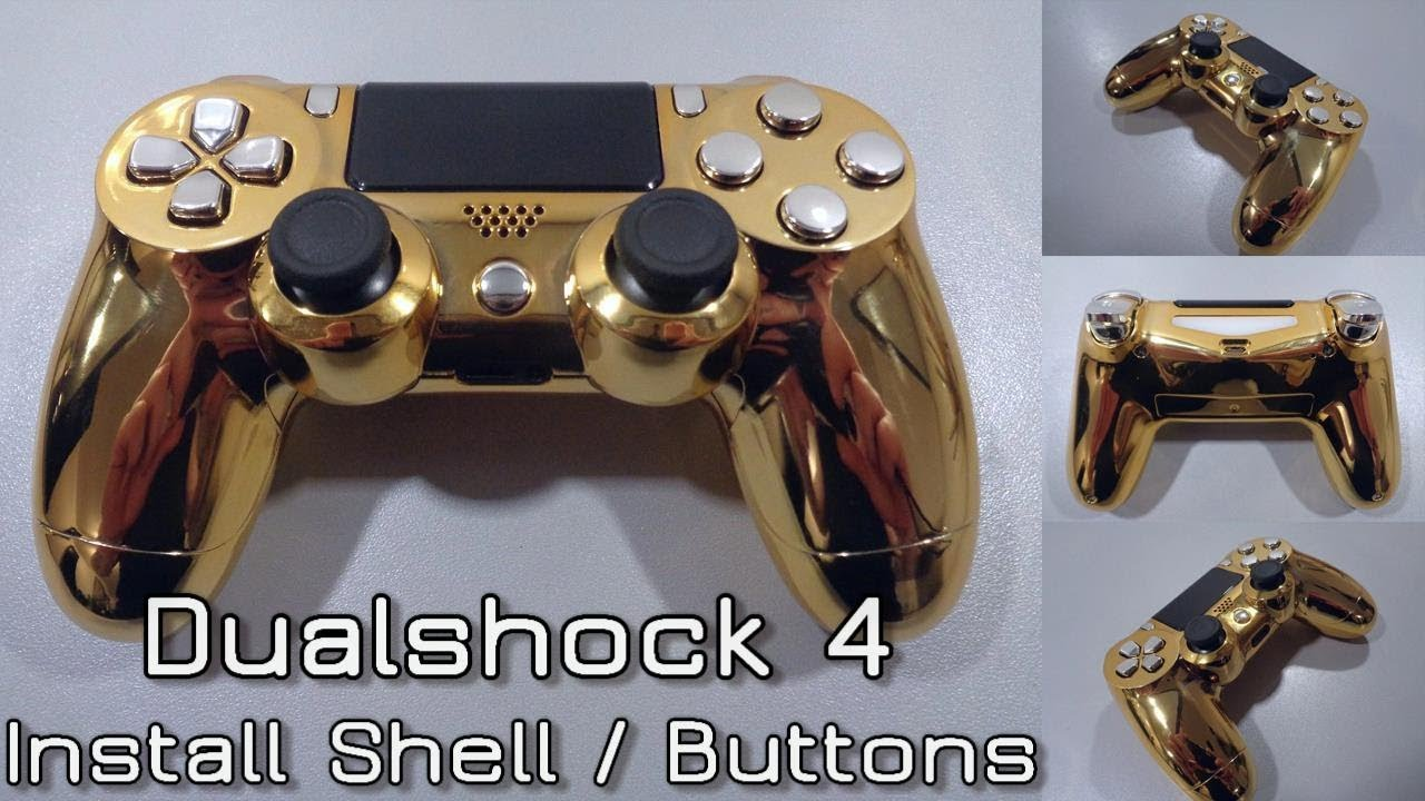 How to install a Dualshock 4 Gen 1-2 Shell and Buttons