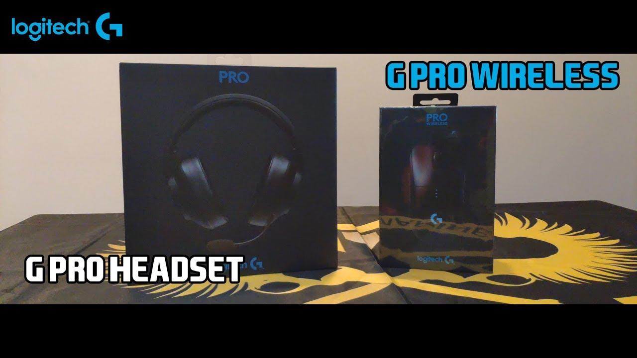 Review Logitech G Pro Wireless và Logitech G Pro Headset cùng GAM Kiaya và Archie !!!