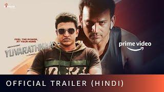 Yuvarathnaa - Official Trailer (Hindi) | Puneeth Rajkumar, Sayyeshaa Saigal | Amazon Prime Video