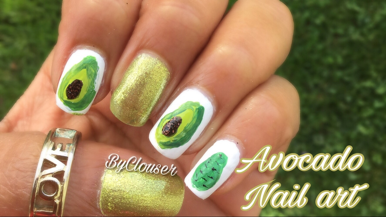 Avocado nail art tutorial in spanish byclouser youtube avocado nail art tutorial in spanish byclouser prinsesfo Gallery