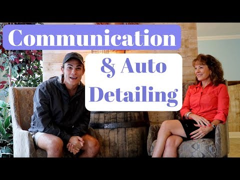 Customer Interview: Communication and Auto Detailing Business!