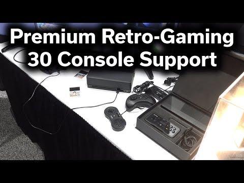 PolyMega - Retro Gaming - 30 Consoles - 9,000 Games