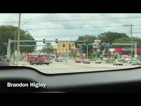 Tampa Fire Rescue Engine 13 Responding