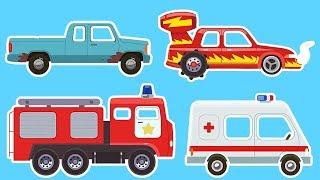 Мультики про машинки - Тачки - Тачки - Все серии подряд - Сборник мультфильмов для детей
