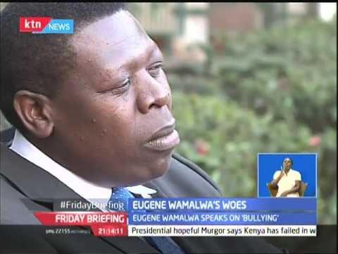 Eugene Wamalwa: I never said i would vie for Nairobi Gubernatorial seat