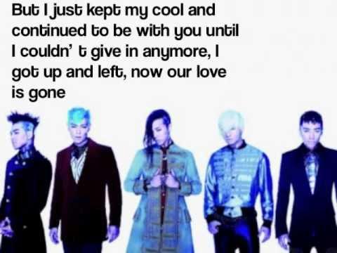 BIGBANG  Love Dust 사랑 먼지English Version