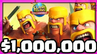 5v5 for $1,000,000 in Clash of Clans! ALL the DETAILS and RULES!