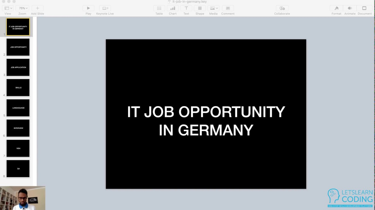 Live Session on IT Job Opportunity in Germany