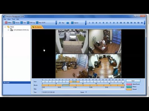 CCTV DVR Automatic Off-Site Backup of Video Surveillance Files
