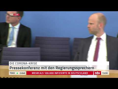 Bundespressekonferenz Live